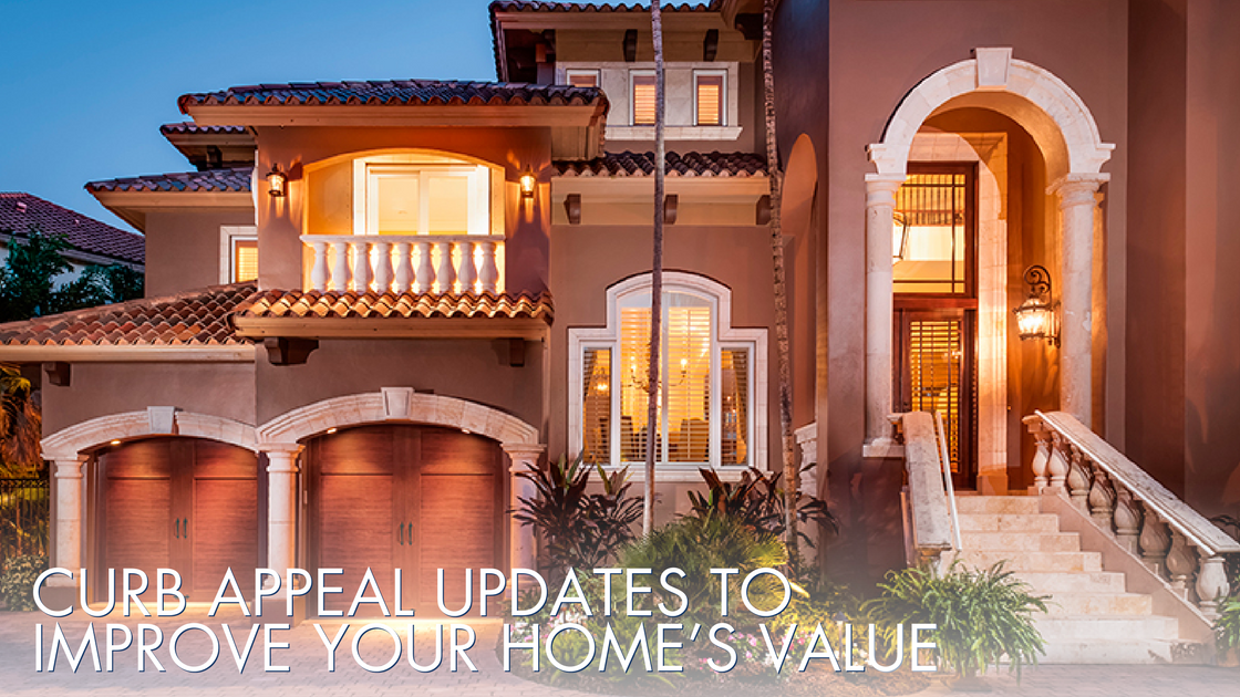 Curb appeal updates to improve your homes value
