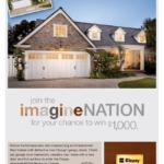 Clopay imagineNation garage door makeover contest