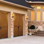 Two Canyon Ridge carriage house style garage doors
