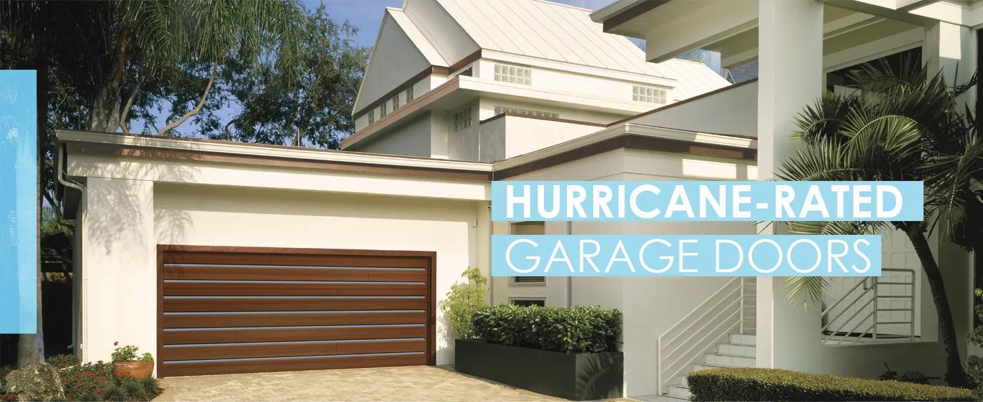 hurrican rate garage door south florida