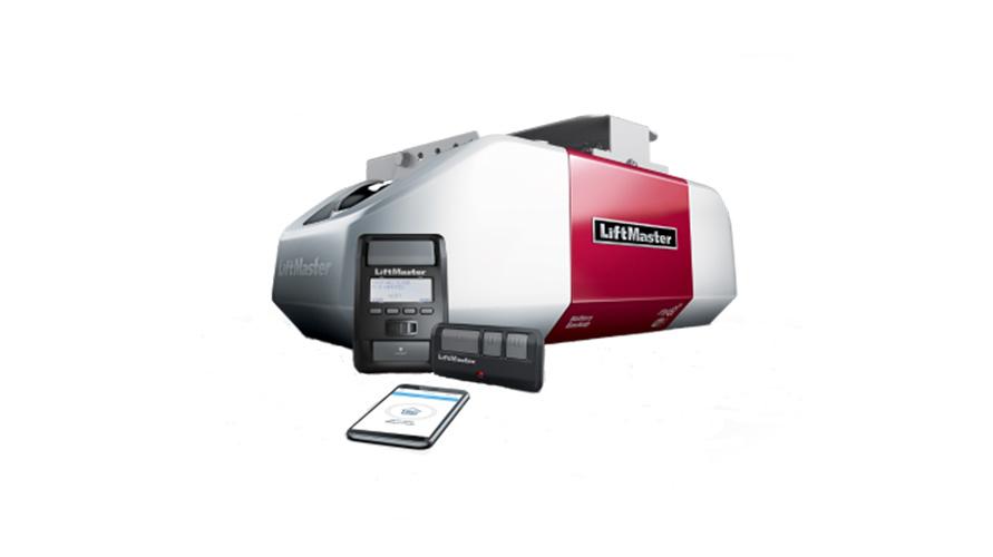 LiftMaster elite series 8580WLB DC battery backup chain drive WiFi garage door opener