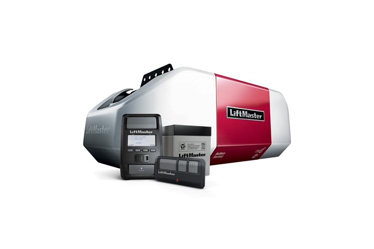 LiftMaster elite series 8550W DC battery backup belt drive WiFi garage door opener
