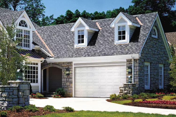 Home with a Clopay Value Series garage door