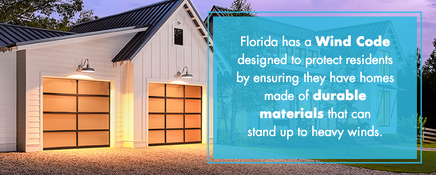 What Makes a Garage Door Approved for Florida Wind Code?